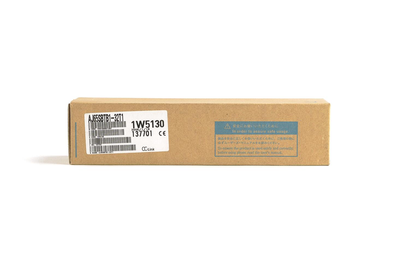三菱 CC-Link小形タイプリモートI/Oユニット (トランジスタ出力,端子台) AJ65SBTB1-32T1 (06年製・L)