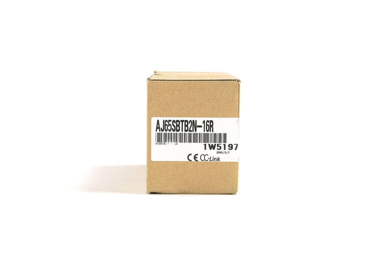 三菱 CC-Link小形タイプリモートI/Oユニット (接点出力,端子台) AJ65SBTB2N-16R (05年製・D)