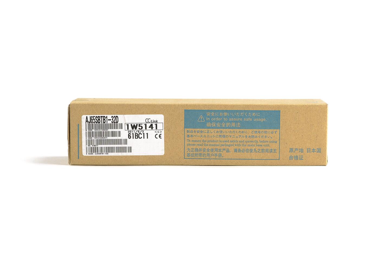 三菱 CC-Link小形タイプリモートI/Oユニット (DC入力,端子台) AJ65SBTB1-32D (11年製・V)