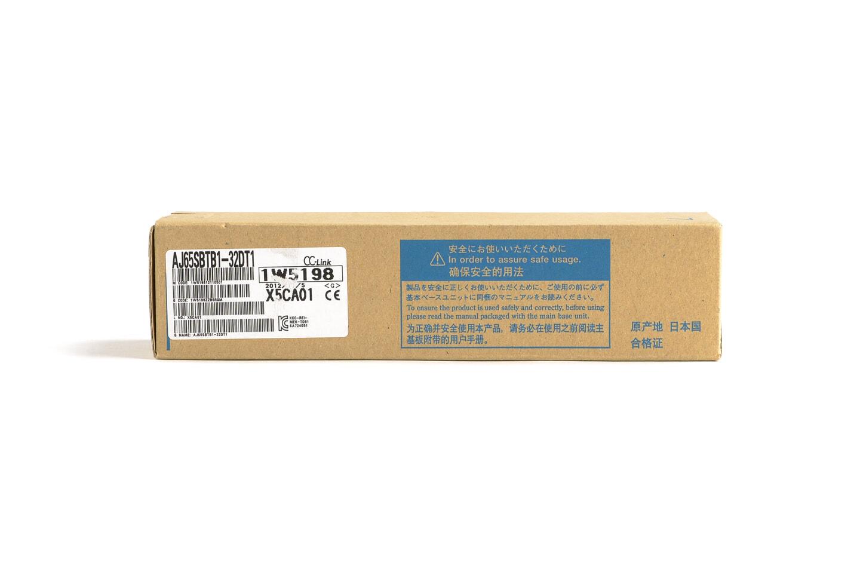 三菱 CC-Link小形タイプリモートI/Oユニット (DC入力/トランジスタ出力,端子台) AJ65SBTB1-32DT1 (12年製・N)