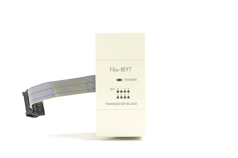 三菱 出力増設ブロック FX2N-8EYT (10年製)