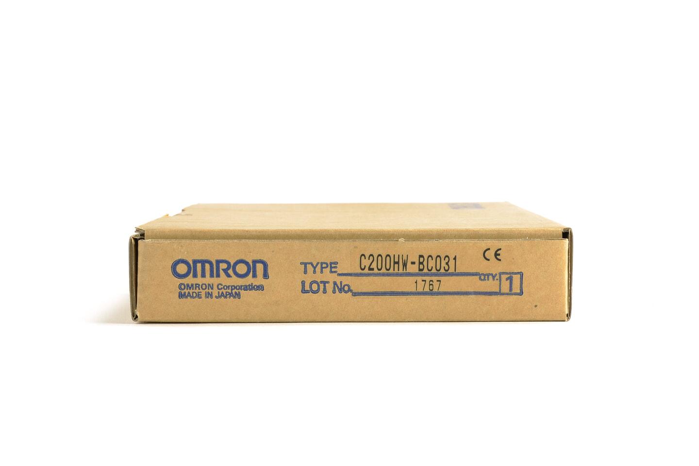 オムロン CPUベースユニット C200HW-BC031 (07年製)