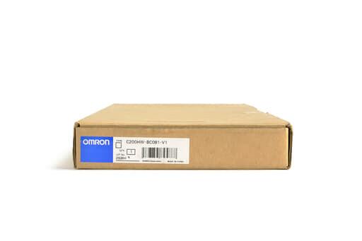 オムロン CPUベースユニット C200HW-BC081-V1 (06年製)