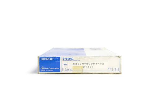 オムロン CPUベースユニット C200H-BC081-V2 (00年製)