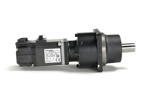三菱 減速機付きACサーボモータ HG-KR13G1 1/20