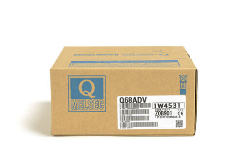 三菱 アナログ-デジタル変換ユニット Q68ADV (09年製)