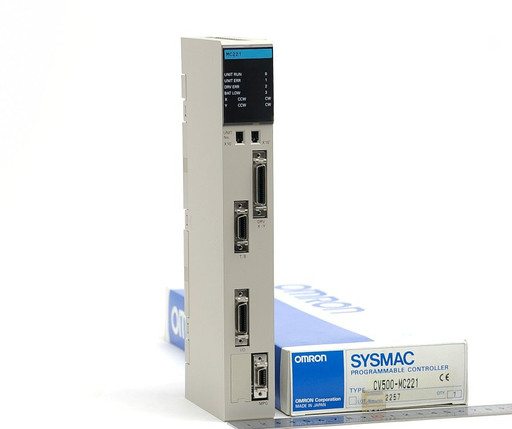 オムロン プログラマブルコントローラ(モーションコントロールユニット) CV500-MC221