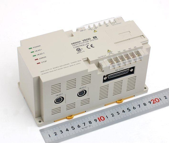 オムロン IDコントローラとリードライトヘッド、データキャリアのセット V600-CA1A-V2+V600-H52+V600-D23P53