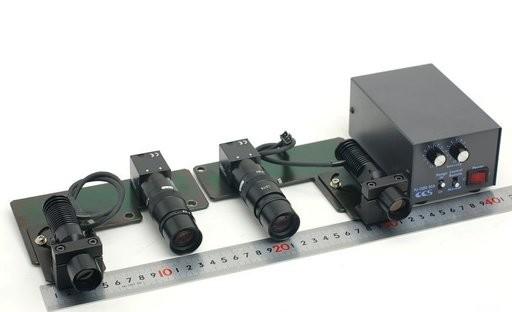teli CCDカメラと照明装置のセット TK5591A8+LD75+PJ-1505-2CA