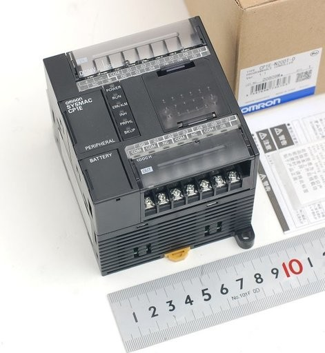 オムロン プログラマブルコントローラ CP1E-N20DT-D