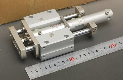 SMC ガイド付きシリンダ MGCLB20-25+10-R-XC-11