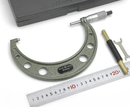 Mitutoyo 標準外側マイクロメータ OM-150