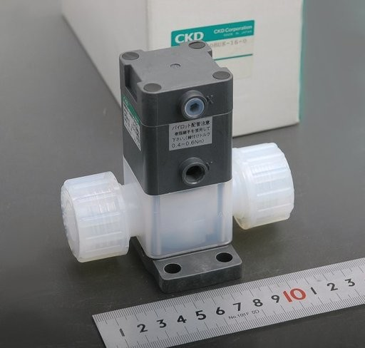 CKD 薬液用エアオペレイトバルブ AMD412-20BUK-16-0-1