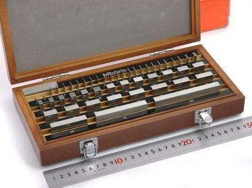 Mitutoyo ゲージブロックセット BM1-47-0