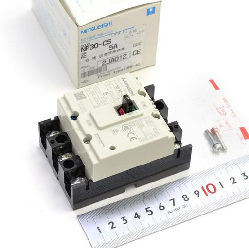 三菱 ノーヒューズ遮断器 NF30-CS 3P 5A