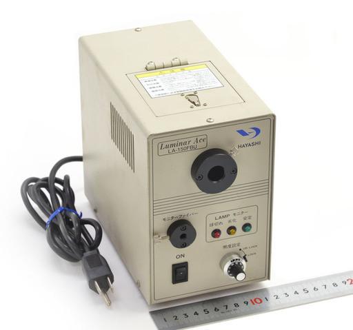 HAYASHI ハロゲン光源装置 LA-150FBU (不具合あり)