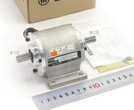 三木プーリ 電磁クラッチブレーキ125-05-12