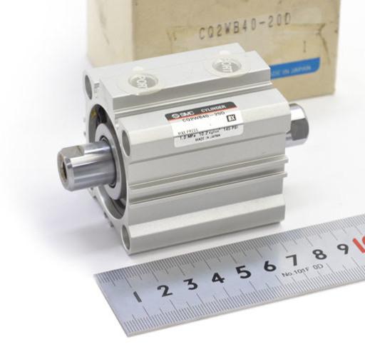 SMC 薄型シリンダ CQ2WB40-20D