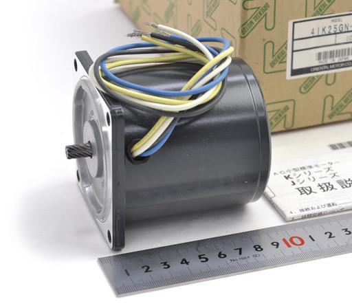 オリエンタルモーター ギヤヘッド付きインダクションモーター 4IK25GN-C+4GN25K