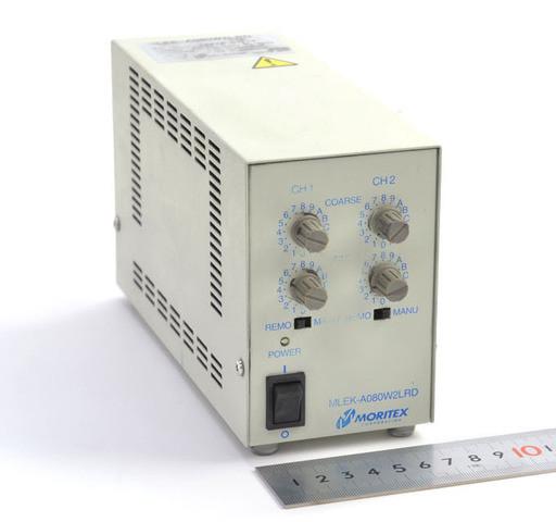 MORITEX LED照明専用コントローラとリング照明のセット MLEK-A080W2LRD+MDRL-CB16