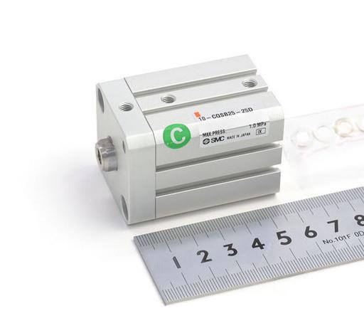 SMC 薄形シリンダ 10-CQSB25-25D