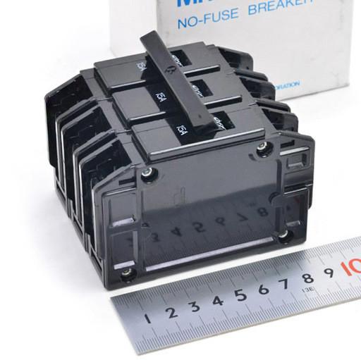 三菱 ノーヒューズ遮断器 BH-K 3P 15A