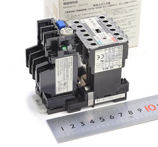 三菱 電磁開閉器 MSOD-M12AB(DC24V)