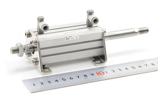 SMC 薄型シリンダ(両ロッド) CDQSWL25-50DM-M9BL