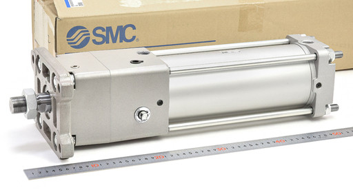 SMC ロック付きシリンダ CDNA2F100-200-D-M9BW