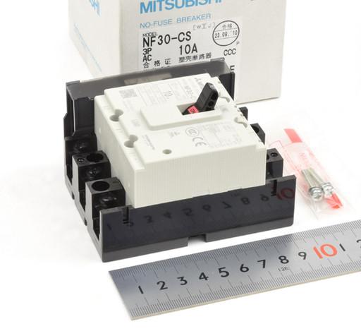 三菱 ノーヒューズ遮断器 NF30-CS 3P 10A