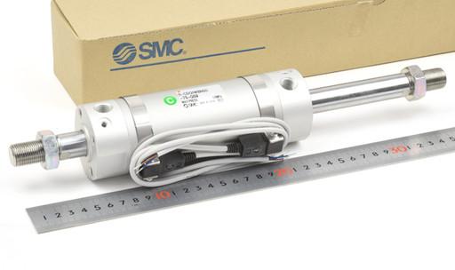 SMC 両ロッドシリンダ 11-CDG1WBN50-75-G59