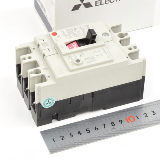 三菱 漏電遮断機 NV63-CV 40A 3P