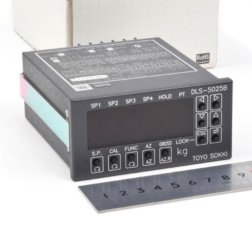 東洋測器 デジタル指示計 DLS-5025B
