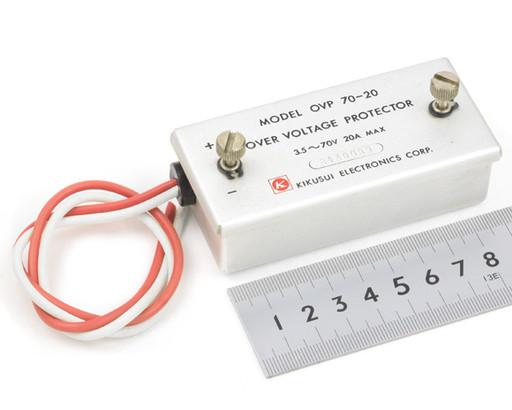 菊水電子 直流過電圧保護装置  OVP70-20