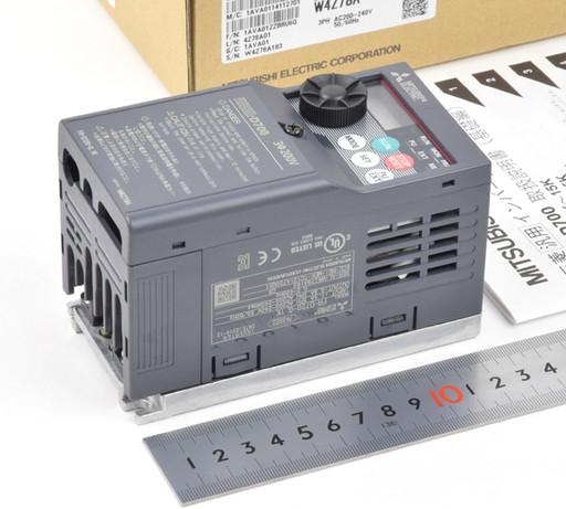 三菱 インバータ FR-D720-0.1K