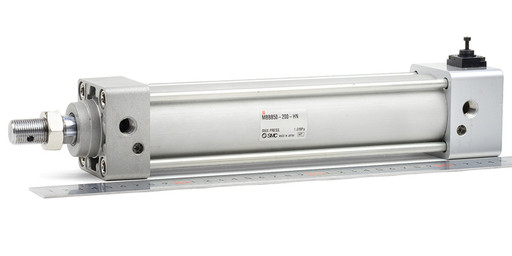 SMC エアシリンダ(エンドロック形) MBBB50-200-HN