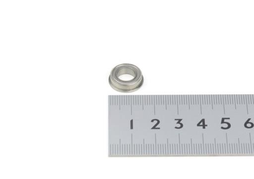 フランジ付きミニチュアボールベアリング 内径:Φ8