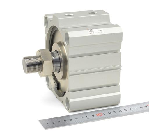 SMC 薄型シリンダ CDQ2B125-10DCM-A73L