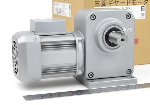 三菱 ギヤードモーター GM-SHY-RR 0.2kw 1/80