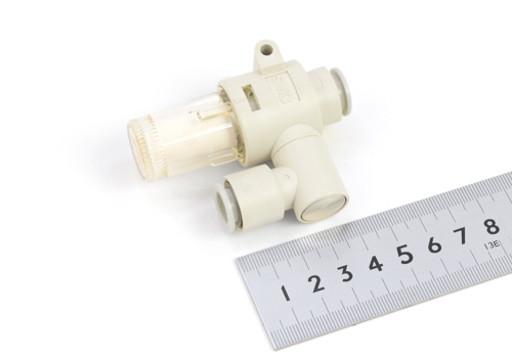 SMC ワンタッチ管継手付エアサクションフィルタ ZFB3