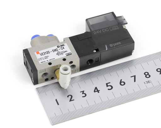 SMC シングルソレノイドバルブ VZ3120-5MZ-C4