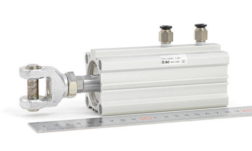 SMC 薄形低摩擦シリンダ MQQLB30-20DM