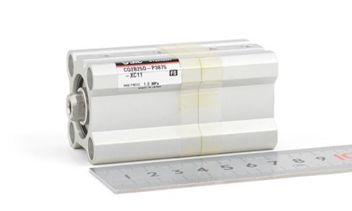 SMC デュアル行程薄型シリンダ CQ2B25D-P3875-XC11