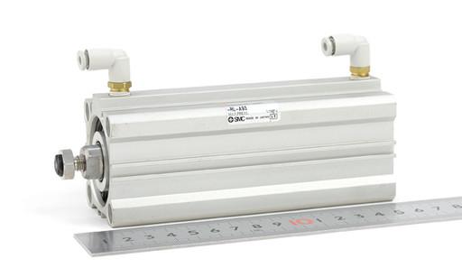SMC 薄型エンドロックシリンダ CDBQ2B40-75DC-RL-A93