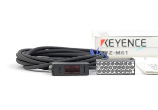 キーエンス アンプ内蔵型光電センサ(回帰反射型・ケーブルタイプ) PZ-M61