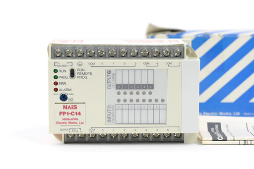 NAIS コントロールユニット FP1-C14T-AC(Ver.2.9)