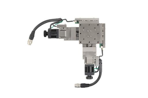 駿河精機 自動直動XY軸ステージとドライバのセット 60×60mm PG615-L05AG+PG615-R05AG+SD5107P2