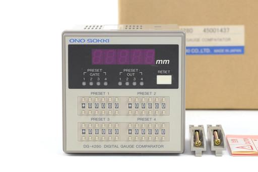 小野測器 ディジタルゲージカウンタ DG-4280