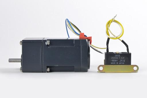 オリエンタルモーター 3W小型インダクションモータとギヤヘッドのセット 0IK3GN-B+0GN25K