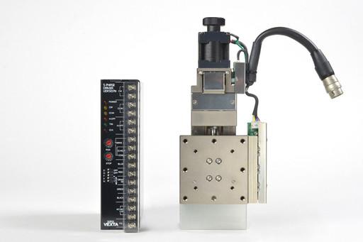 駿河精機 自動Z軸ステージとドライバのセット PZG615-R05AG+UDX5107N